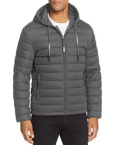 Andrew Marc Packable Quilted Down Jacket - 100% Bloomingdale's Exclusive
