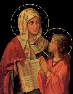 Novena to St. Anne begins today - July 17