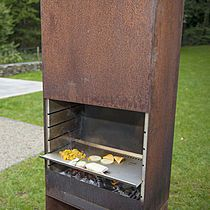 Wood griddle in garden K60 - Grill