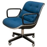 Charles Pollock's 1963 Executive Chair for Knoll used in IBM offices