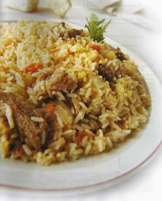 Guiso de arroz is a traditional Paraguayan recipe. Paraguayan Recipe, Paraguay Food, Pollo Guisado, Food Trends, Fermented Foods, Fried Rice, Summer Recipes, Pasta, Dishes
