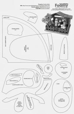 Escola Sabatina com Tia Malu: Presépio em 3D