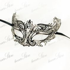 Bronze Greek Goddess Masquerade Mask w/ Diamonds, Limited Vintage Inspired Edition by 4everstore - Made of Light Metal [Black] on Etsy, $33.14 AUD