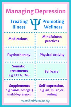 Treatment strategies like medications and therapy can improve symptoms of illness, but it's also important to practice strategies that promote greater mental wellness. Managing the Depression Puzzle by Ashley L. Peterson covers a wide range of both types of strategies to try out and see what fits for your individual illness. #majordepression #depressionbooks #livingwithdepression #depressiontreatment #mentalhealthbooks #mentalillness