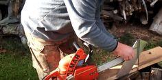 Πως να μετατρέψετε ένα αλυσοπρίονο σε μηχάνημα κοπής ξύλων