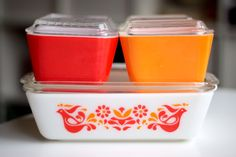 i have become obsessed with vintage pyrex- not sure why