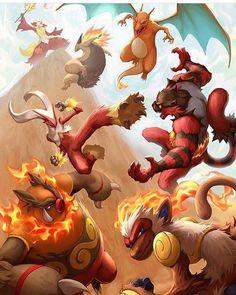 All current Fire starters final evolutions. All current Fire starte… All current end developments for fire starters. All current end developments for fire starters. Pokemon Mew, Pokemon Legal, Pikachu Art, Mega Pokemon, Pokemon Comics, Pokemon Funny, Pokemon Fan Art, Pokemon Fusion, Charmander