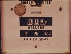 Price of gas in 1968