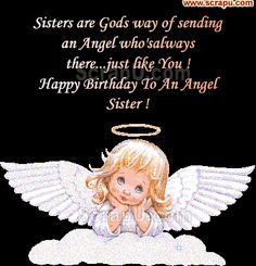 Free birthday cards for sister in heaven to share on facebook happy birthday sister comments status sms images and pictures bookmarktalkfo Choice Image