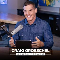 The Craig Groeschel Leadership Podcast offers personal, practical coaching lessons that take the mystery out of leadership. In each episode of the Craig Groeschel Leadership Podcast, Craig brings you empowering insights and easy-to-understand takeaways you can use to lead yourself and lead your team. You'll learn effective ways to grow as a leader, optimize your time, develop your team, and structure your organization. Christian Podcasts, Inspirational Leaders, Christian Organizations, Interview, Young Leaders, Effective Teaching, Working People, Like A Boss, Bad News