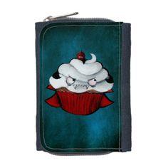 Sweet Vampire Cupcake Wallets