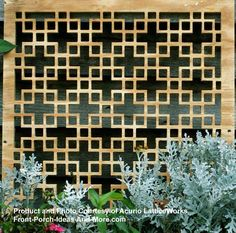 Porch Skirting Panels | Chinese Ply - another excellent pattern choice for gardens!