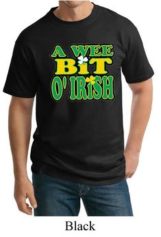 f148ffc7 A Wee Bit Irish Men's St Patrick's Day Tall Tee T-Shirt A10000-PC61T