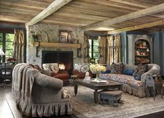 Living Room - traditional - living room - st louis - by Edwin Pepper Interiors