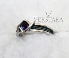 From horsehair bracelets, horsehair necklaces and stunning horsehair rings - Verstara creates everything from you OWN horse's tail to make the perfect horse hair jewelry for you. Horse Hair Bracelet, Horse Hair Jewelry, Amethyst, Sapphire, Horse Tail, Hair Rings, Memorial Jewelry, Beautiful Rings, Barn