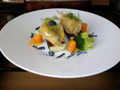 JHS /Sardines fauvette, les légumes et la sauce de chou rouge Gino D'Aquino