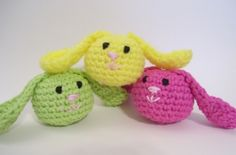 """bunnies - I bet these could be modified to make adorable """"boo boo buddies""""..."""