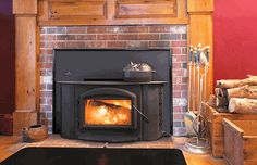 FireplacePro offers great discounts on wood inserts and wood burning fireplace inserts from Napoleon & Ventis. Heat your home in style with a new wood fireplace that adds warmth and ambience to any room. Wood Stove Fireplace Insert, Wood Burning Fireplace Inserts, Fireplace Hearth, Fireplace Frame, Fireplace Ideas, Fireplaces, Wood Burning Insert, Wood Insert, Wood Plank Shelves