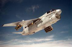 Chance-Vought A-7E Corsair II.