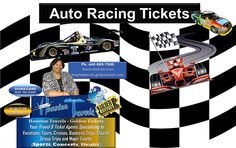 "UTO RACING TICKETS  ***Available for all the FAST-PACED AUTO RACES***  Tickets are on Sale NOW!!!! For NASCAR, F1, INDY, GRAND PRIX, MONSTER JAM, MONSTER TRUCK, ARENACROSS PRO RACES, MOTOGP, INDIANAPOLIS 500, DAYTONA 500 AND SUPERCROSS.  Get your Ticket[s] Today!!!!!  Purchase ""All"" of your AUTO RACING TICKETS from our Golden Ticket Website.  Use the link below to purchase your ticket[s]  https://houstontravels.goldentickets.com/Sports/Auto-Racing-Tickets"