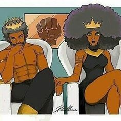 This is the only way to view ourselves. Kings and Queens or Gods & Goddesses…