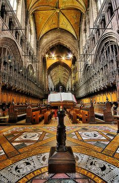 Chester Cathedral, Cheshire , England !!!!