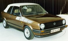 Properly thought at the wrong time: The Golf II Convertible Existed only in a single copy.
