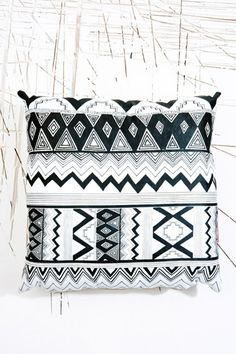 Ohh Deer Huipil Cushion at Urban Outfitters