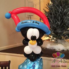 Baby Penguin Twisted Balloon Creation, balloon twisting  #PartyWithBalloons