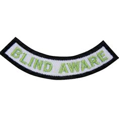 GSSD Blind Aware Patch-Pairs with GSSD Ability Awareness Patch-badge requirements are included with order