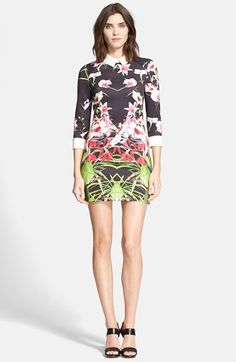 Ted Baker London 'Youma' Floral Print Dress available at #Nordstrom