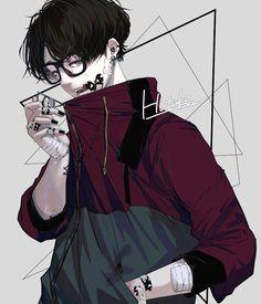 "Nguồn:""Mọi nơi"" Anime Boys, Manga Anime, Art Anime, Anime Kunst, Cute Anime Boy, Manga Boy, Arte Alien, Dibujos Cute, Boy Art"