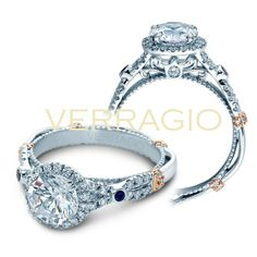 this one is for you lain! Verragio CL-DL109R Engagement Ring- Genesis Diamonds