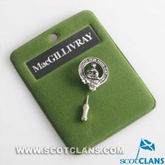 MacGillivray Clan Crest Pin Badge