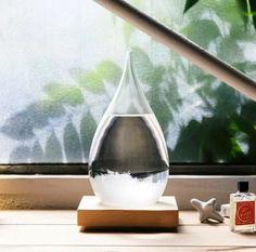 Weather Forecast Storm Glass Home Decor 6*12cm