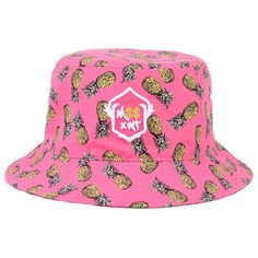 76d868d8854 M  xWT Pineapple Print Bucket Hat ( 55) found on Polyvore featuring  accessories