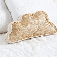 A cute sparkly cloud pillow from pbteen