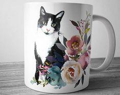 Cat Coffee Mug Pet Mug Cat Lover Mug Cat Mug Mom Coffee