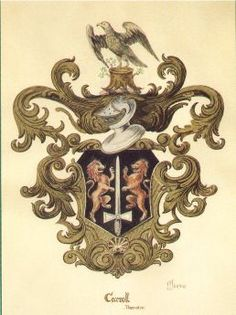 Carroll Family Crest :: for our paper anniversary this July