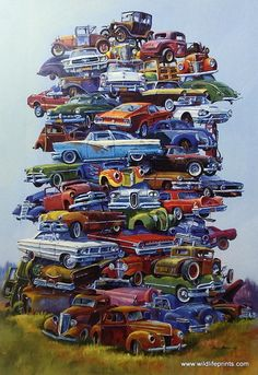 Dale Klee Old Ford Car picture JUNKPILE