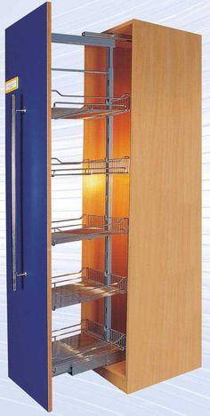 Despensa|Unidade da despensa|Armário de Diy|Armário da despensa da cozinha|Armário GZ-H127-U5