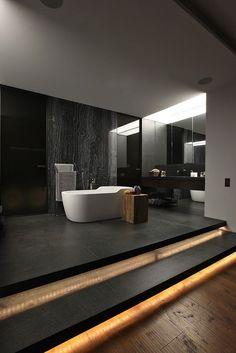 Stylish Dark-Toned Interior in Istanbul Designed by Tanju Özelgin - http://freshome.com/2014/03/27/enchanting-dark-toned-modern-interior-tanju-ozelgin/