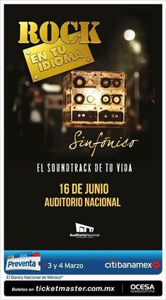 Rock en tu Idioma @ Auditorio Nacional