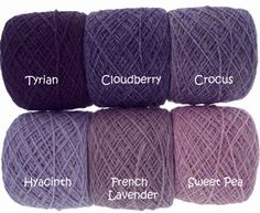 Holst Yarns, one of my favos. Made in Denmark | Laine et Tricot - good pics of all the holst garn colours