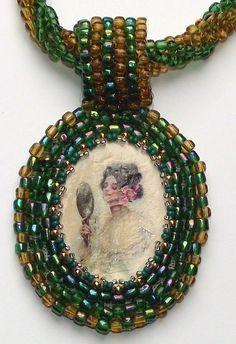 Embroidery Naturschönheit von for you bijoux auf DaWanda.com