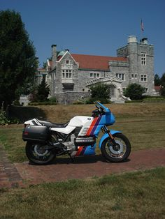 K100RS  aka  Flying Brick with BMW Rennsport paint  https://www.facebook.com/pages/Flying-Brick/215579578600173?ref=hl