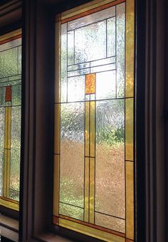 Gallery Glass Class: Susan's Craftsman Style Dining Room Windows