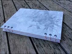 Tutorial: cuaderno con cosido copta - YouTube