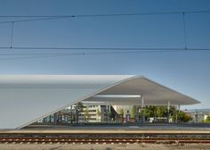 Pforzheim Central Bus Station / Metaraum