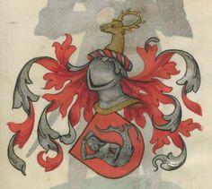Armorial de la Table ronde.  Date d'édition :  1490-1500  Ms-4976  Folio 120r
